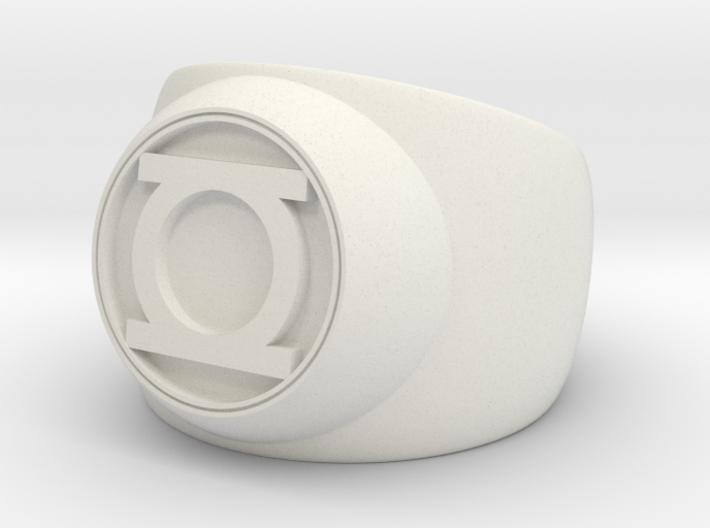 Green Lantern Ring- Size 8.5 3d printed
