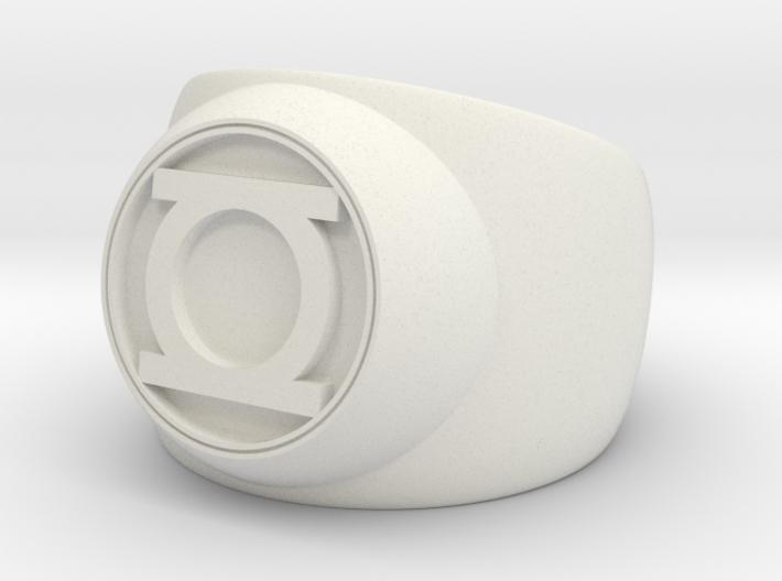 Green Lantern Ring- Size 11 3d printed