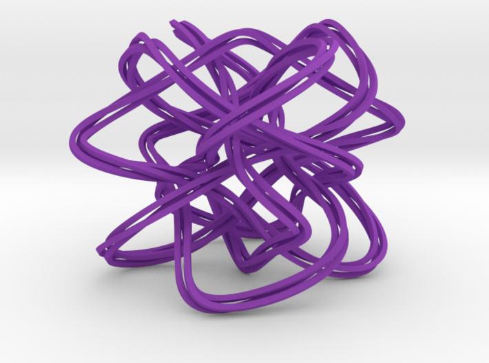 Lissajous Knot Knot (5, 6, 7), (3, 37) 3d printed