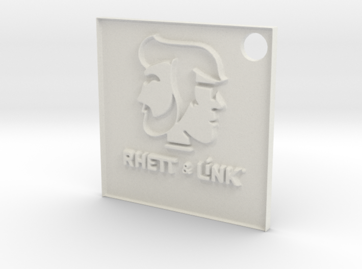 Rhett and Link Tag 3d printed