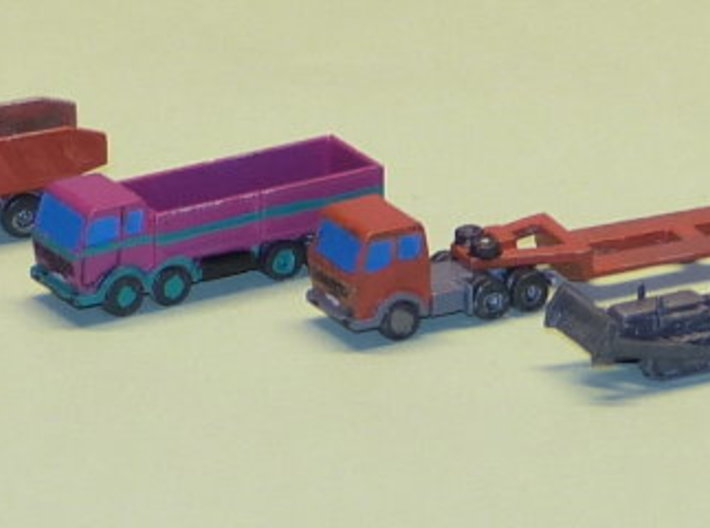 Construction Site Trucks 3 1/285 3d printed Add a caption...