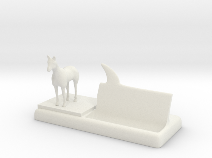 Horse business card holder 6xwplyxsn by drwhojohnsmith horse business card holder 3d printed colourmoves