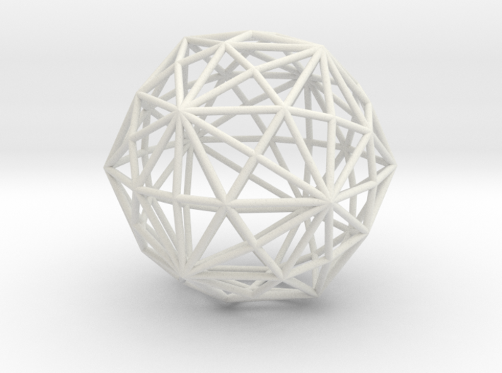 DisdyakisTriacontahedron 70mm 3d printed