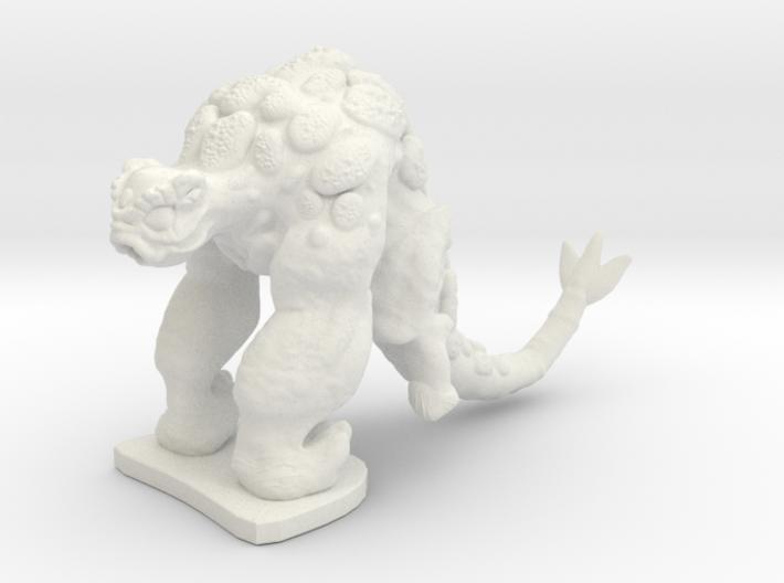 Alien Gorilla 3d printed