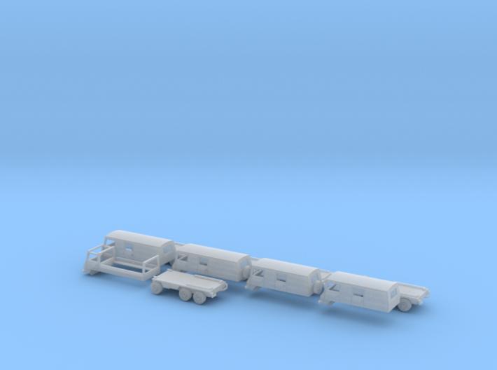 Pinzgauer set 3d printed