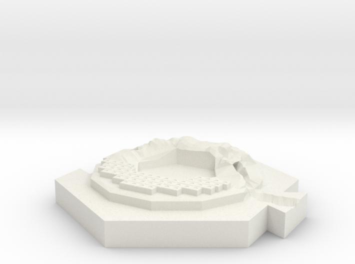 River (brick) 3d printed