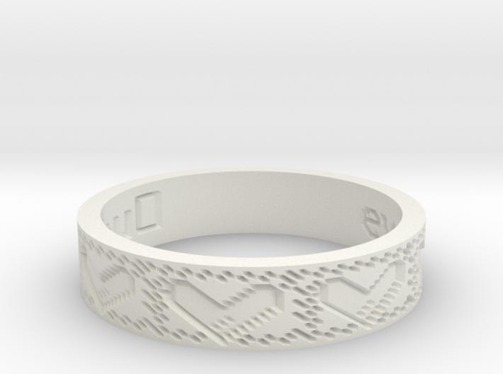 by kelecrea, engraved: eva+norbert=bubu 3d printed