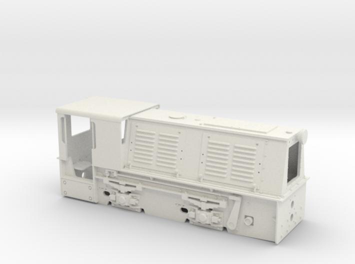 Feldbahnlok HF50b Spur 0e/f Original (1:45) 3d printed