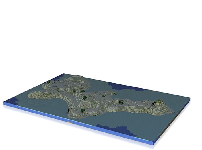 landscape science wrl 3d printed