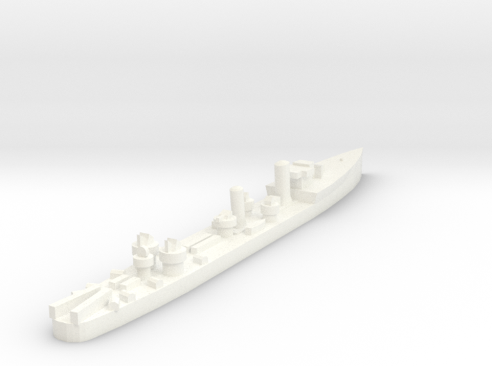 Admiralty S Destroyer (SRE) 1:1800 3d printed