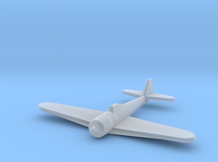 Ki-43 Oscar (Single) 1:700 3d printed