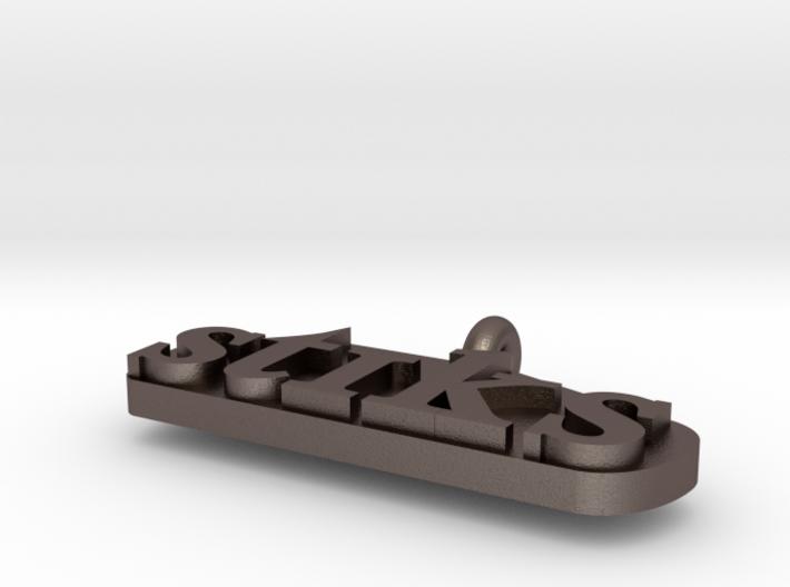 Metal Lingustics Necklacs Part 3 3d printed