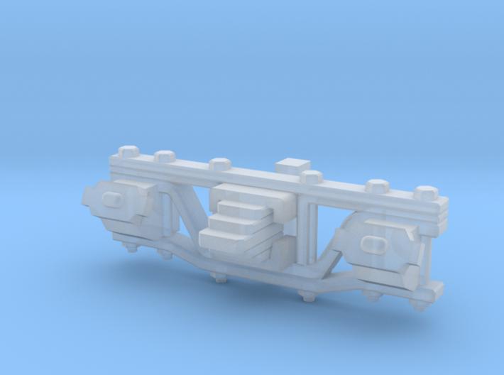 HOn3 D&RGW Truck sideframe 3d printed