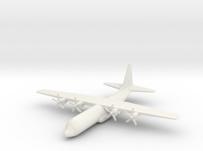 1/285 (6mm) C-130J Hercules 3d printed