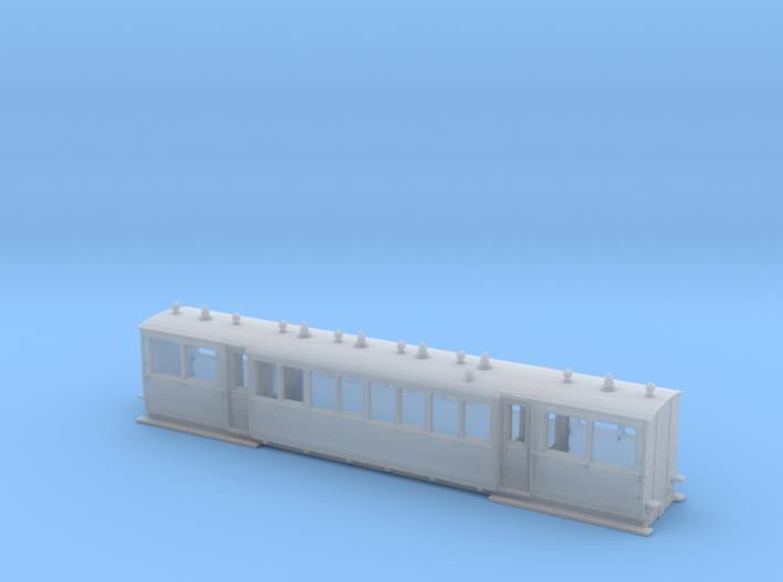Wismarwagen der MPSB in TTf (1:120) 3d printed