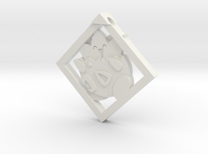 Togepi Pendant 3d printed