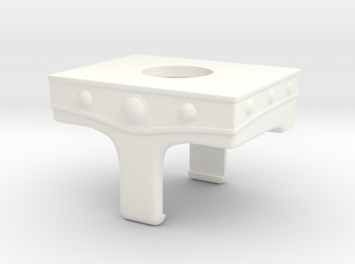 MOTU belt for minimate w/ rounded groin 3d printed