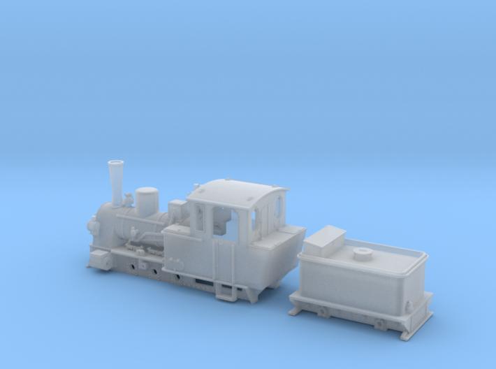BR 99 3351-53 der MPSB in H0f (1:87) 3d printed