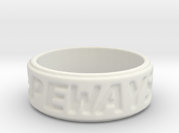 shapeways ring 3d printed