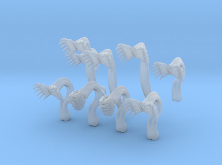 ZahnTentakel Offen 02 Xs Kit 01 3d printed