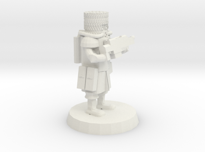 28mm Heroic Scale Space Cossack Trooper 3d printed