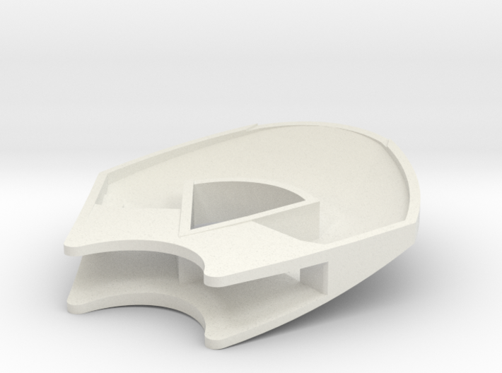 Upper shell 3d printed