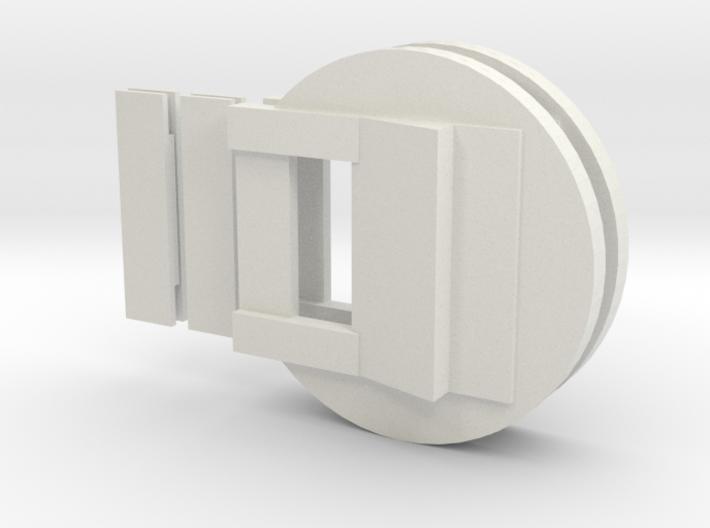 """Fluebasev3-less-125ver-dbl (1 1/4"""" models only!) 3d printed"""