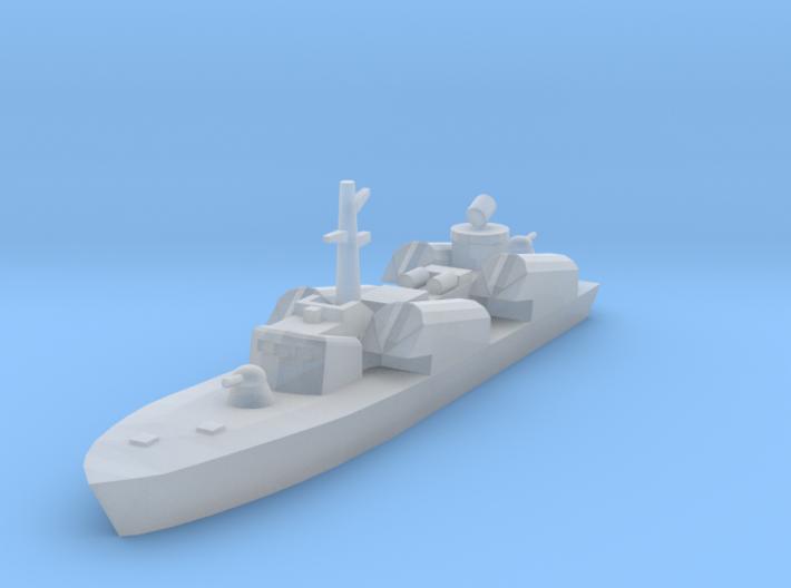 1/1250 Soviet Osa Missile Boat 3d printed