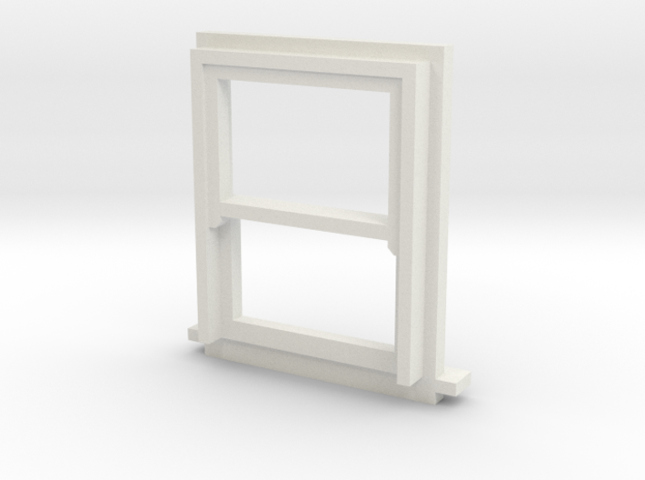 900 X 1200 Sash Window 4mm Scale 3d printed