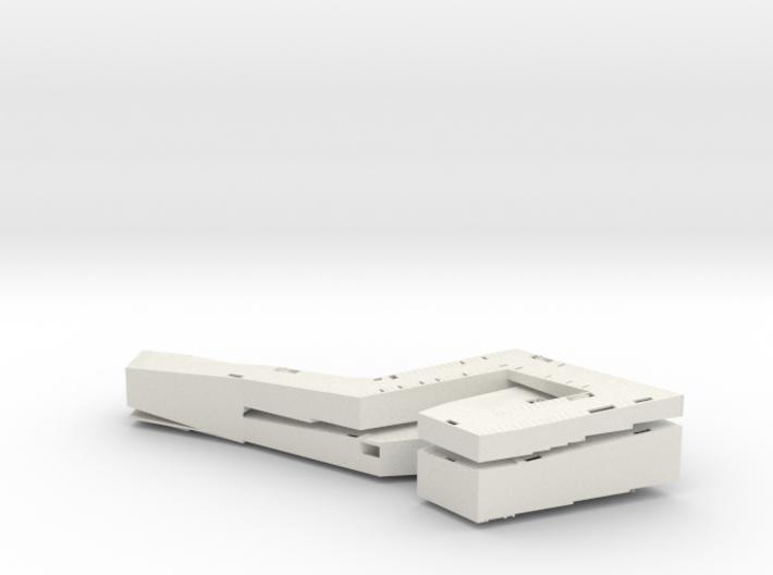 miniNL PCbird(1:1000) 3d printed