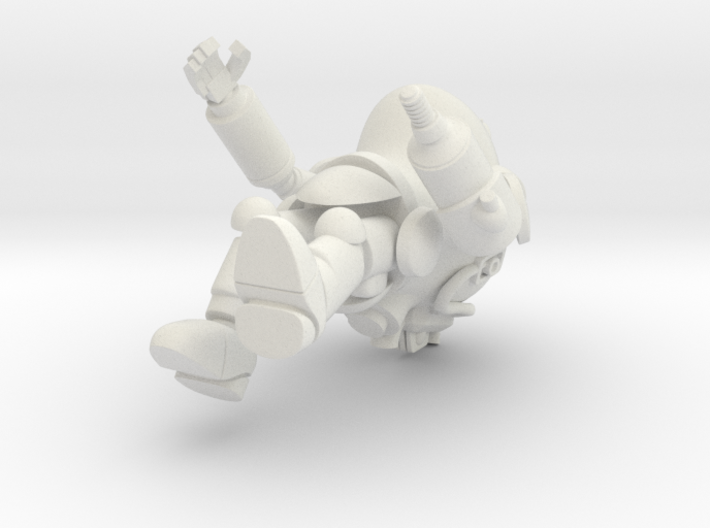 PanzerAnzug WWII German Power Armour for use with 3d printed