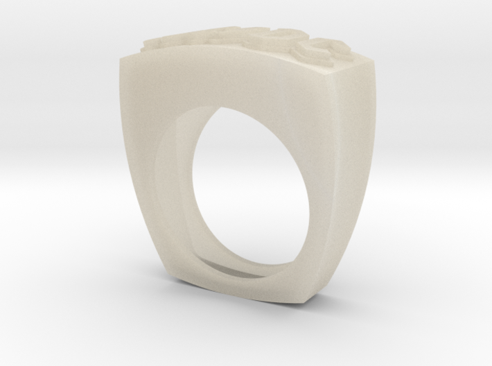 acdc ring 3d printed