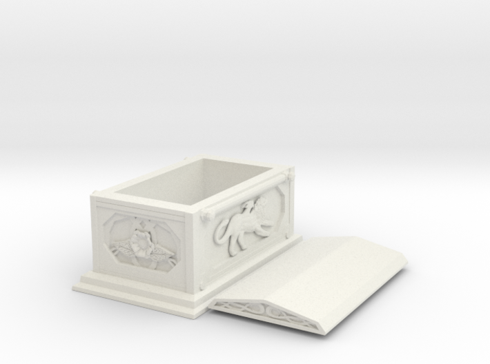 Temple - Coffin 3d printed