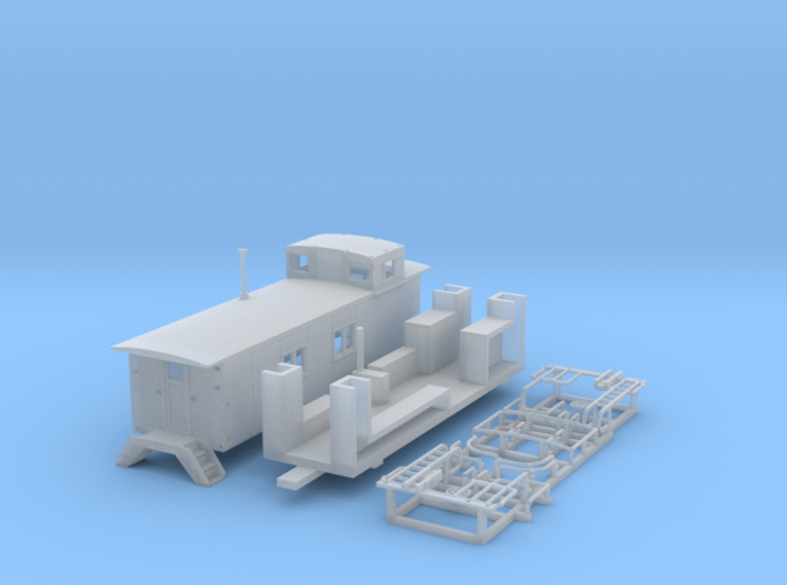 1811 model 08 N sprue rep 3d printed
