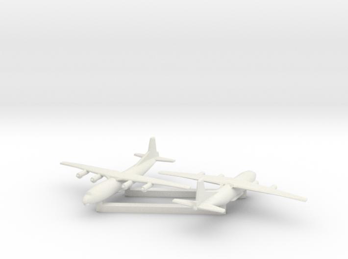 1/700 Antonov AN 12 Shaanxi Y8 x2 3d printed