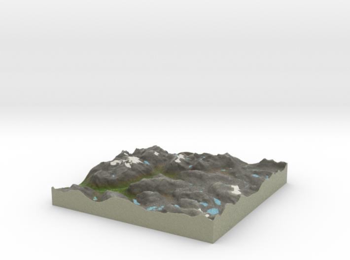 Terrafab generated model Sat Apr 05 2014 19:34:34 3d printed