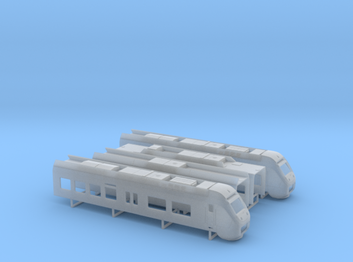 Sprinter Lighttrain (1:160) 3d printed