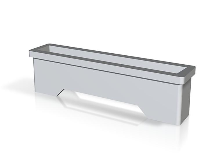 Wand Bar Graph Bezel plain v2 3d printed