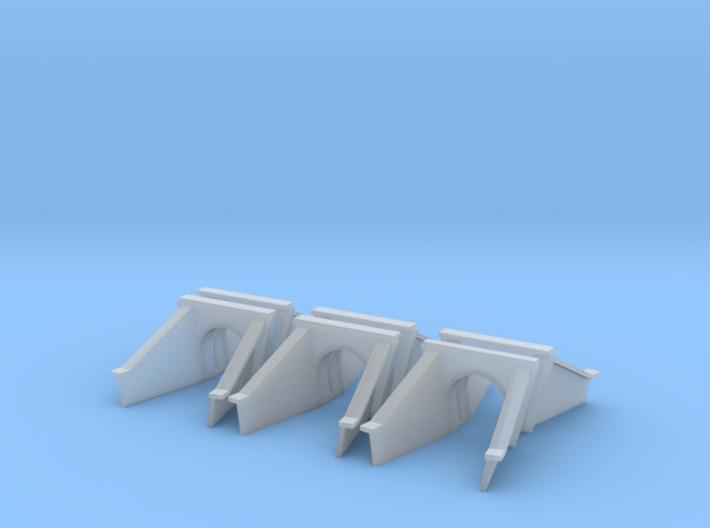 5 Foot Concrete Culvert HO X 6 3d printed