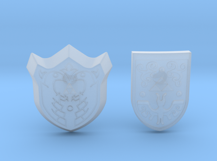 Toon Shield Pack 3d printed