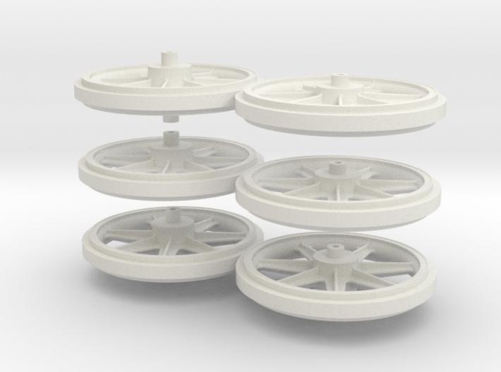 Wheels 2de Serie 3d printed