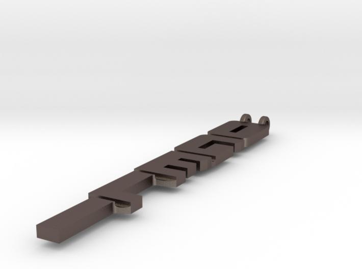 Necklace: Ogeli 3d printed