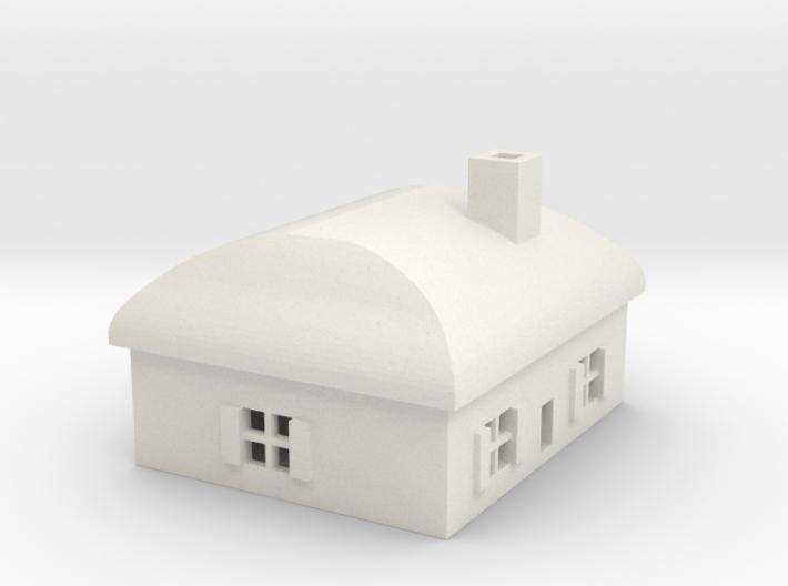 1/700 Villiage House 3 3d printed