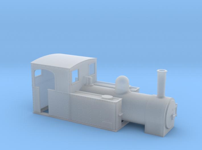 OO9 W & L loco 3d printed