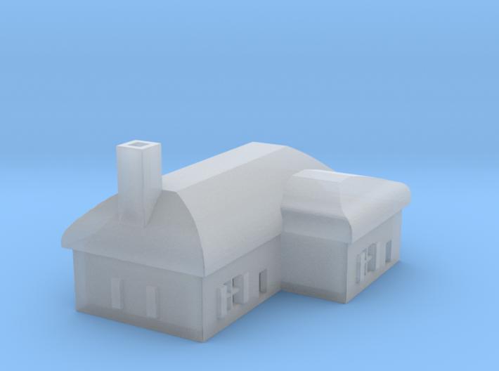 1/700 Villiage House 2 3d printed
