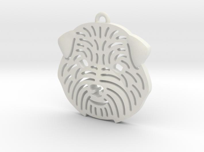Cute pet pendant. 3d printed