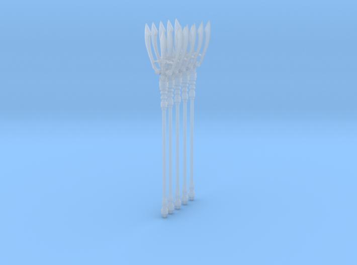 Trident 001b (x5) 3d printed