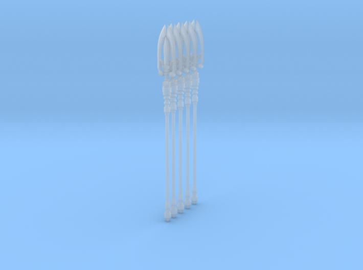 Trident 001a (x5) 3d printed
