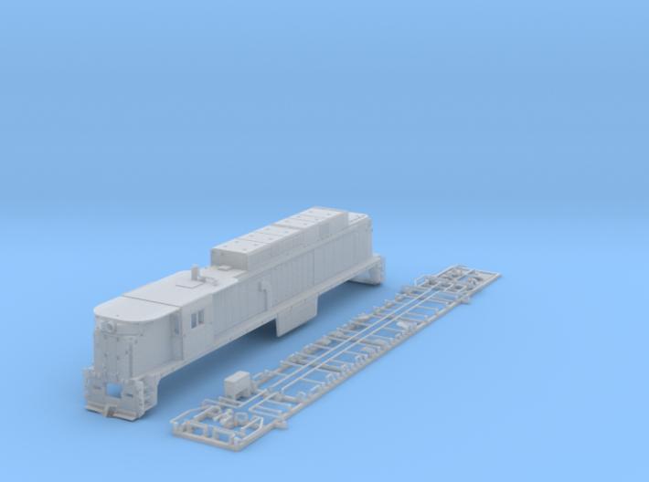 NE3305 N scale E33 loco - Conrail 4610 3d printed