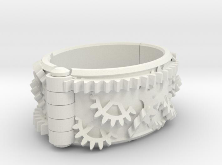 Gear bracelet 3d printed